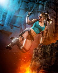 Alyssa Loughran as Lara Croft
