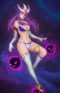 Syndra/Star Guardian from Nesoun Smith