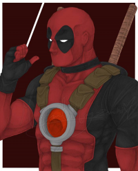 Deadpool from M. May