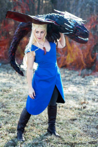 Amanda Dawn as Daenerys Targaryen