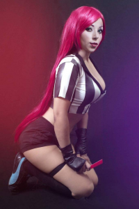 Atenea Cosplay as Katarina