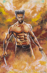 Wolverine from Ian Rialdi