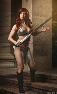 Nevermore Cosplay. as Red Sonja