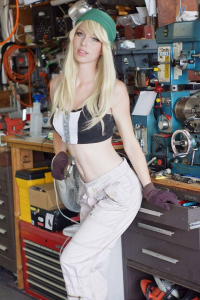 Megan Coffey as Winry Rockbell