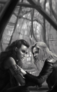 Lexa, Clarke Griffin from Papurrcat