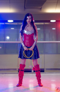 Allure Cosplay as Wonder Woman
