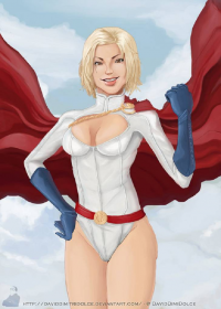 Power Girl from David Tabar