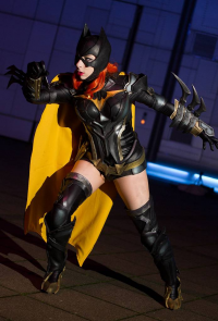 Cyehra Cosplay as Batgirl