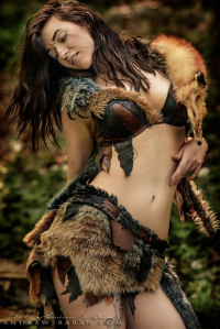 Anastasia August as Barbarian