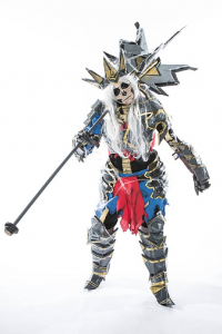 Keikei Flores as Leoric the Skeleton King