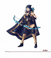 Ashe from Amylrun