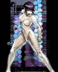 Motoko Kusanagi from Glen Canlas