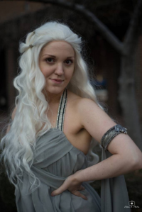 AsgardBarbie Cosplay as Daenerys Targaryen