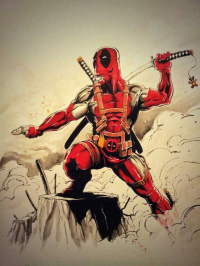 Deadpool from Mark Lauthier