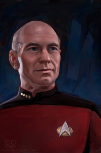 Jean-Luc Picard from Riley Stark
