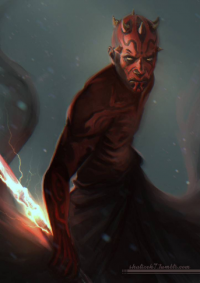 Darth Maul from shalizeh