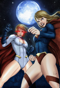 Power Girl, Supergirl from Michel Carlos