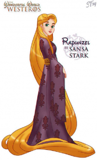 Princess Rapunzel/Sansa Stark from Sam Tsui