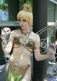 Maid Of Might Cosplay as Tinker Bell/Slave