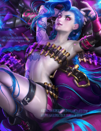 Jinx from Sakimi Chan