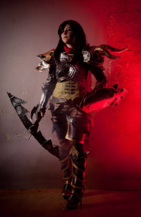 Shappi as Demon Hunter