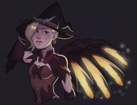 Mercy/Witch from Rad-pax