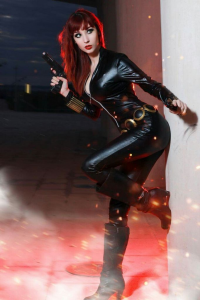 Illisia Cosplay and Photography as Black Widow