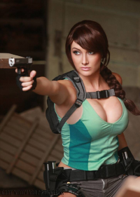 Dayna Baby Lou as Lara Croft