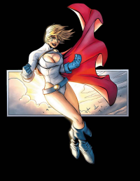 Power Girl from Jeremy Roberts