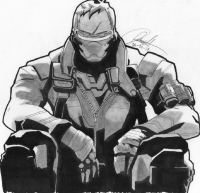 Soldier: 76 from Agentx41822n
