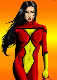 Spider-Woman from Adam Tupper
