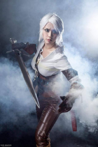 AlpacONNIESM as Ciri