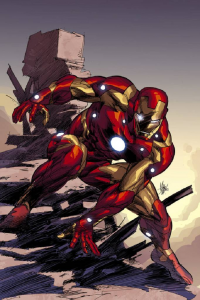 Iron Man from Rain Beredo