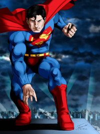 Superman from Alberto Treviño