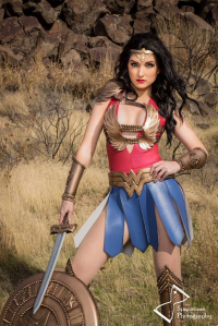 Alkali Layke as Wonder Woman