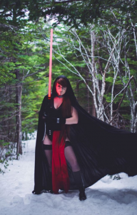 Lily Hunter Cosplay as Sith