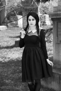 Northern Belle as Wednesday Addams