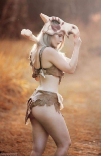 Blondiee as Cubone