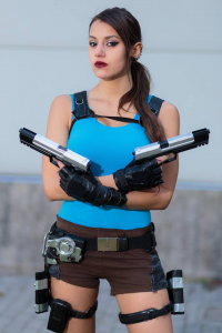 Fuinur Croft Cosplay as Lara Croft