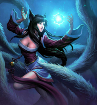 Ahri from Unknown Artist