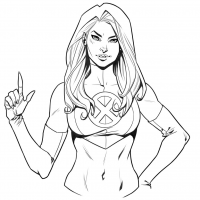 Emma Frost from Kate-n-bd