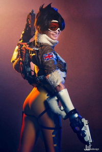 Ellei Marie as Tracer