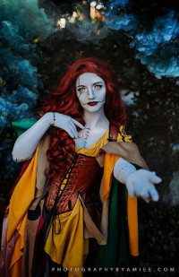 Thesparrowsprovidence as Sally Skellington