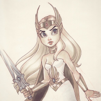 She-Ra from Chrissie Zullo