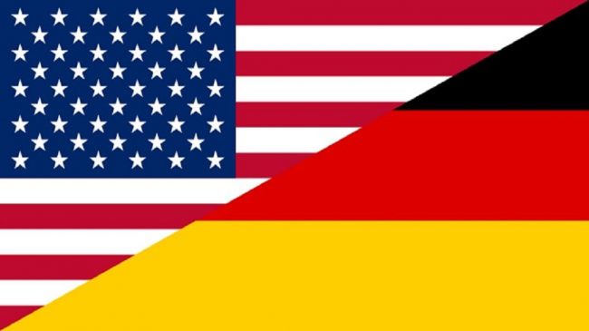 USA & Germany Flag