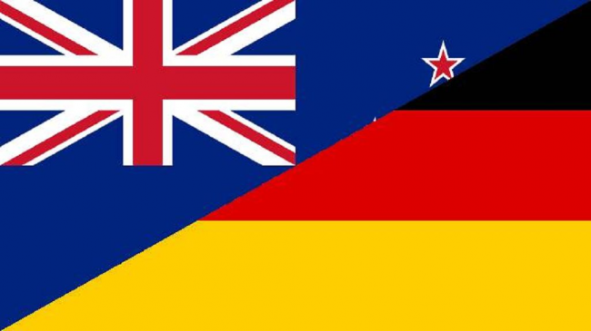 New Zealand & Germany Flag