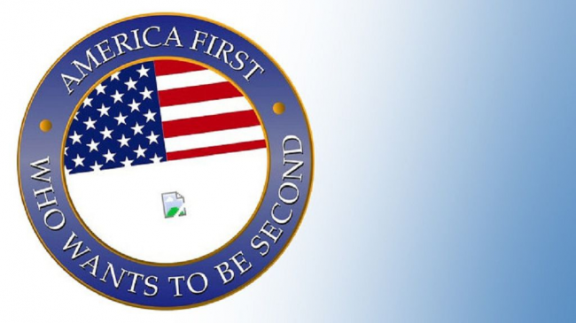 America First - Who wants to be second