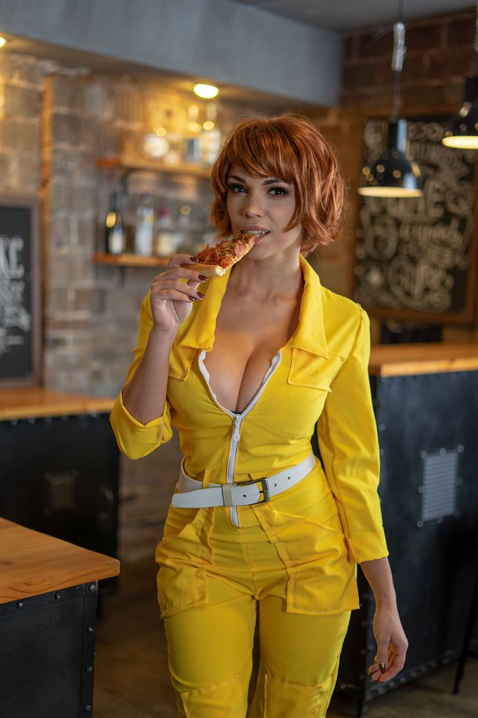 April ONeil Cosplay by Octokuro