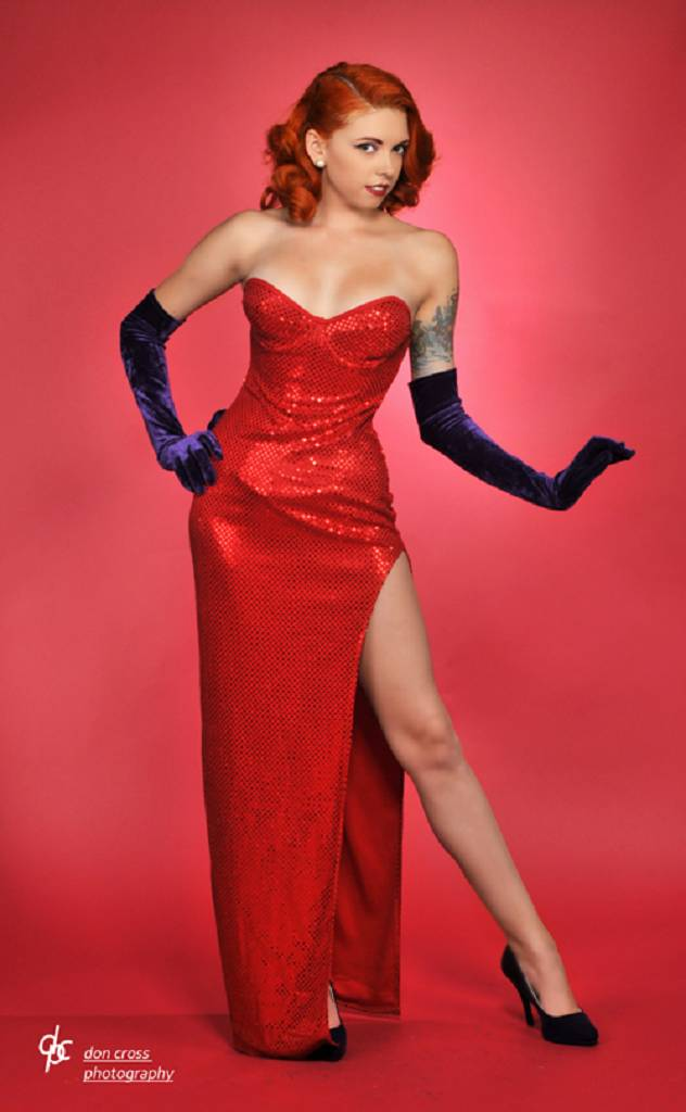 Jessica Rabbit Cosplay By Babyj Marie