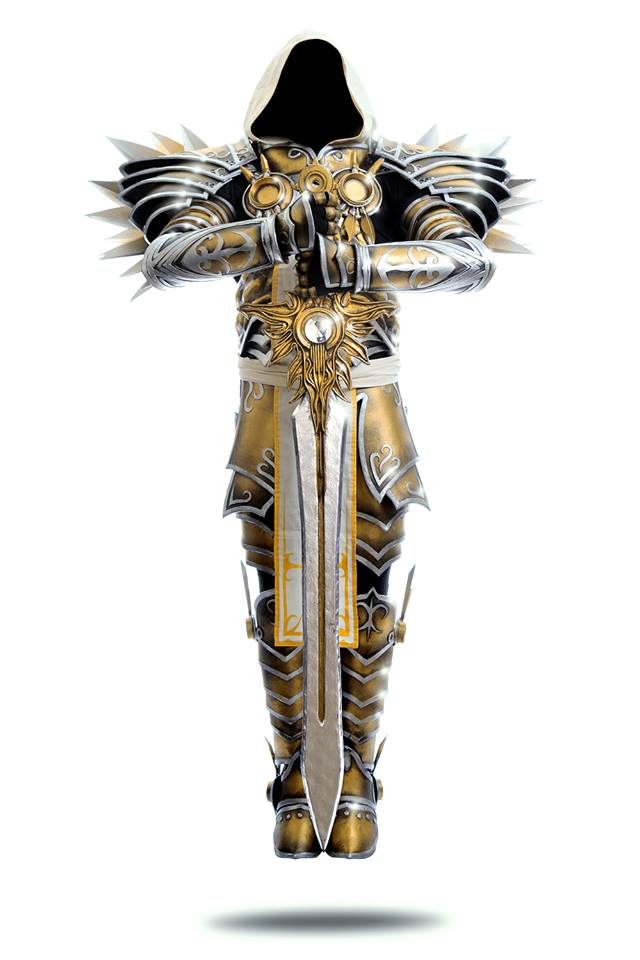 tyrael cosplay by si spencer. Black Bedroom Furniture Sets. Home Design Ideas